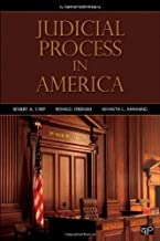 Judicial Process in America, 9th Edition by Carp, Robert A, Stidham, Ronald, Manning, Kenneth L (2013) Paperback