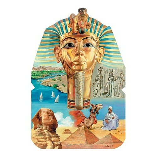 Serendipity Puzzle Company Desert Kingdom Shaped 800 Piece Jigsaw Puzzle
