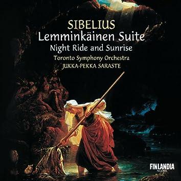Sibelius : Lemminkäinen Suite; Night Ride and Sunrise
