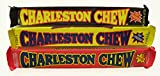 Charleston Chew Chewy Nougat Candy 3 Flavor 9 bar Variety Bundle