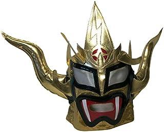 【プロレス マスク】獣神サンダー・ライガー レプリカマスク 髪無頭開 ゴールド ルチャリブレ プロレス
