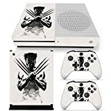 New comes Vinyl Decal For Microsoft Xbox One Slim Skin Sticker 2 Controller Protective Skin