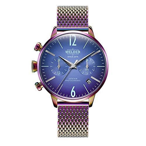 Reloj Welder WWRC646 Smoothy Mujer Azul Acero