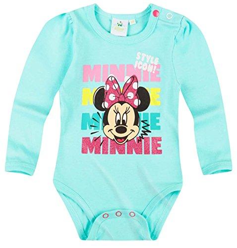 Body manches longues bébé fille Minnie Bleu de 3 à 24mois (18 mois)
