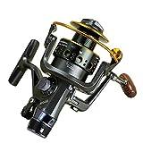 HXF- Filo da Pesca Canna Da Lancio por Ruota da Pesca En Mare Un Doppio Rilascio Anteriore E Posteriore con Testa Metallo Precisión (Size : 4000)