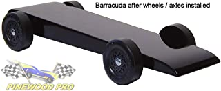 Pinewood Derby BSA Car Kit - pre-Weighted and Painted - The Barracuda
