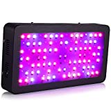 LEDGLE LED Plant Grow Light 400W(80X5W) Full Spectrum with UV IR Plant Grow Light for Outdoor Indoor Plant Veg and Flower Growing Greenhouse Hydroponic