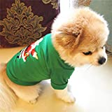 Pet Dog Spring And Summer Clothes New Year Small Dog Clothes Christmas Pet Costumes Spring And Summercoat Puppy Clothes Plus Size Dog Pet Clothes Are Pet Holiday Birthday Gifts