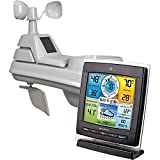 Chaney Instruments 1528 5-in-1 Color Weather Station with Wind and Rain