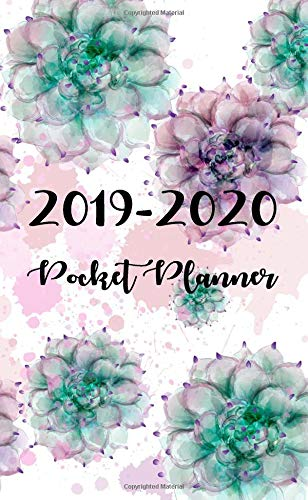 2019-2020 Pocket Planner: Monthly calendar Planner | January - December 2019 - 2020 For To do list Planners And Academic Agenda Schedule Organizer ... Organizer, Agenda and Calendar) (Volume 3)
