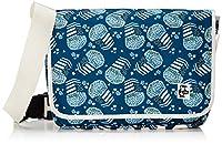 [チャムス] メッセンジャーバッグ Eco CHUMS Messenger Bag Blue Pop Corn
