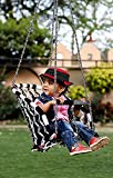 Patiofy Baby Swing Hanging Chair Handmade Cotton with Plywood/Indoor/Outdoor/Baby jhula/Baby Garden Swing/Baby Hanging
