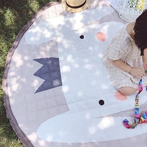 Yanshan Colchonetas Infantiles Almohadillas de algodón de Dibujos Animados de 1,4 Metros...