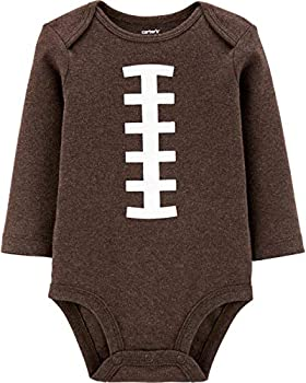 Carter s Baby Sports Costume Collectible Bodysuit  9 Months Brown Football