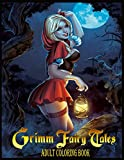 Grimm Fairy Tales Adult Coloring Book: Super Edition, 40+ Grimm Fairy Tales Adult Sexy Illustrations With High Quality In Black And White. Perfect Coloring Book For Adults