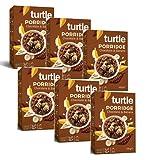 Tortuga cereales avena orgánica chocolate sin gluten con plátano - 6 x 400 gramos