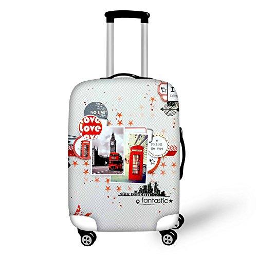 Gopumchy Pariser - Cubierta para equipaje de viaje con diseño 3D