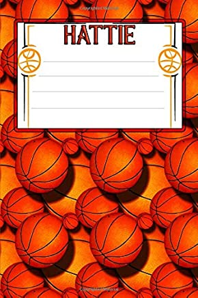 Basketball Life Hattie: College Ruled   Composition Book