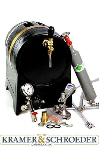 Zapfanlage Trockenkühler Durchlaufkühler Partyfass 1/5 PS 1-ltg. Set Bierkoffer