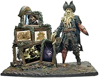 Factory X Pirates of The Caribbean Davy Jones Scene Replica, 13x15-Inch