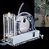 KPfaster Electrolysis Water Machine Hydrogen and Oxygen Flame Generator Water Welder 100-240V 200W