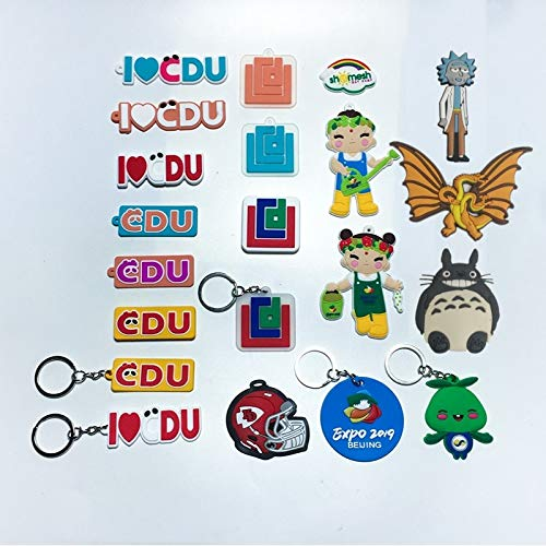 Customization PVC Fridge Magnets Custom Your Personal Design Business Logo Magnetic Stickers for Wholesale Special Present