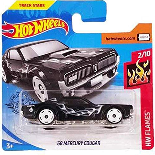 Carrefour Hot Wheels Ford '68 Mercury Cougar HW Flames 2/10 2019 (164/250) Short Card