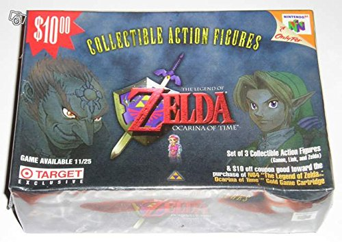 "Coffret Zelda Ocarina of Time N64 Collectible Action Figures ""Limited Edition"" - Nintendo USA (1998)"