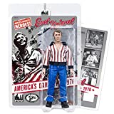 Evel Knievel 8 Inch Action Figures Series: Red & White Hockey Variant