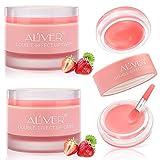 Lips Scrub Lip Balm, Lip Sleeping Mask Sugar Gentle Exfoliation Lip Treatment, Lip Moisturizer & Conditioner for...