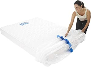 1 Queen Size Bed Mattress Protect Plastic Cover Moving & Storage Bag