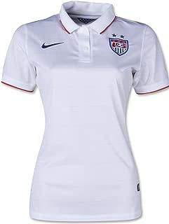 2014 USA Womens Home White Jersey
