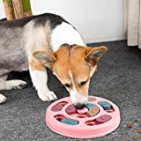 FREESOO Giochi Interattivi per Cani Giocattolo da Addestramento Giochi Dispenser di Dolcetti per Cani di Piccola Taglia, Cuccioli, Corgi, Barboncini