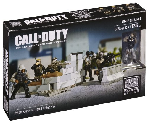 Mega Bloks 6854 - Call of Duty Sniper Unit