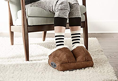Sharper Image Warming Foot Massager - Tan