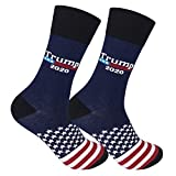 FUNATIC Trump 2020 Original Crew Socks for Men and Women   Unisex President Donald Novelty American Patriot Gift with Message   Best MAGA Republican Voter Accessory   Conservative Election Day Present