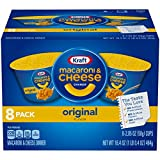 Kraft Easy Mac Original Flavor Macaroni and Cheese (8 Microwaveable Cups)
