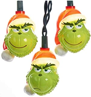 grinch christmas lights