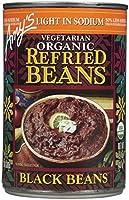 Amy's Organic リフライドブラックビーンズ - 15.4 OZ