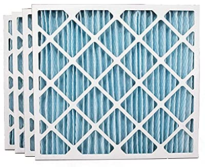Ultra Pure Pleat 28x30x2 MERV 11 Pleated Geothermal AC Furnace Filters, (4 Pack)