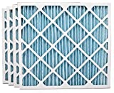 Ultra Pure Pleat 28x30x2 MERV 11 Pleated Geothermal AC Furnace Filters, (4 Pack) (28x30x2)