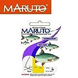 Maruto Stipp Rotaugenhaken gebunden silberfarben - 10 Angelhaken zum Stippangeln, Stipphaken, Haken...
