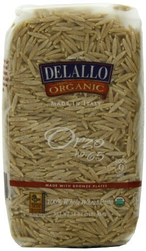 Sale special price Delallo Orzo Whole Wheat Pasta 16-Ounce 8 DeLallo Pack of by National uniform free shipping