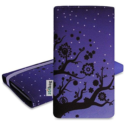 Stijlbag tas 'MIKA' voor Samsung Galaxy S6 - Design: Velvet Night