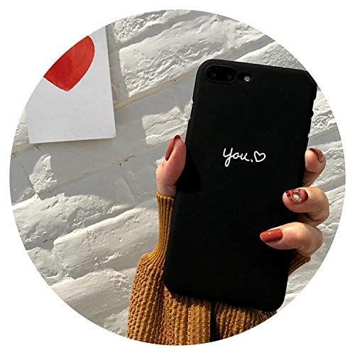 Me you Love a forma di cuore amanti Bandera Phone case fundas per iPhone 5 5S se 6 S 7 7PLUS 6S 6Plus 8 8PLUS x For iPhone 6 6S 05