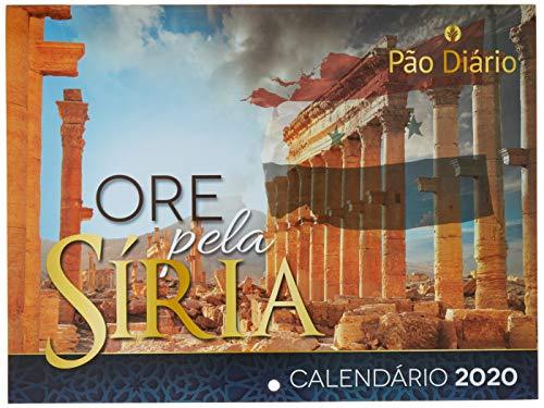 Calendário de Parede 2020 — Ore Pela Síria, Pão Diário, Multicor, Pacote de 1