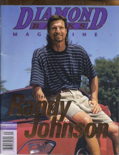 Diamond Backs Magazine (Special 1999 Playoff Edition - Cover: Randy Johnson)