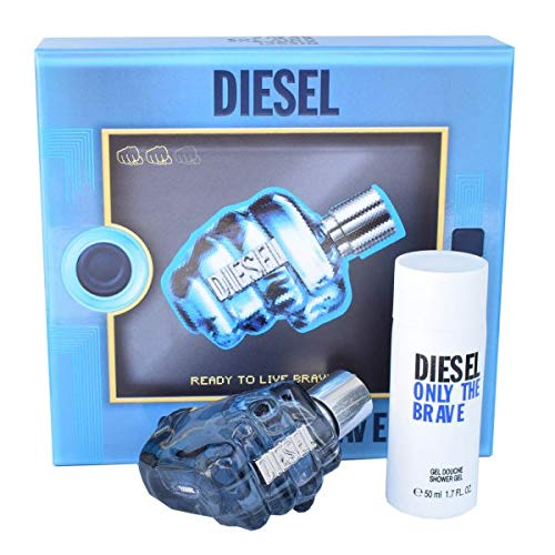 Diesel Only the Brave Eau de Toilette 35 ml + Duschgel Set Duftset Herren Parfum Geschenk Duft