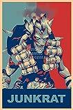 PrimePoster - Overwatch Junkrat Poster Glossy Finish Made in USA - YEXT664 (24' x 36' (61cm x 91.5cm))