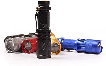 BIDLS Mini Portable Flashlight Flashlight, Zoom Outdoor Camping Light Waterproof, 3 Modes